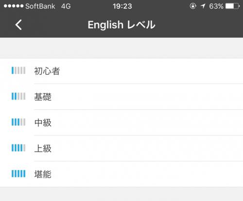 english-level