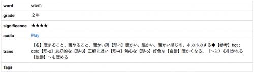 4.中学英語(English Japanese)